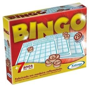 Bingo Pedras De Madeira - Xalingo