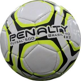 Bola Futsal 500 Penalty Brasil 70  R2 IX Branca