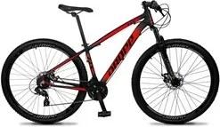Bicicleta Aro 29 Quadro 19 Alumínio 24v Suspensão Trava Freio Hidráuli