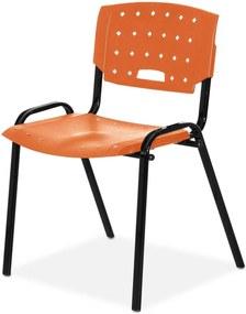 Cadeira Plastica Fit Laranja Giobel