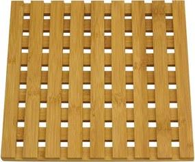 Descanso de Prato Quadrado em Bambu Quioto