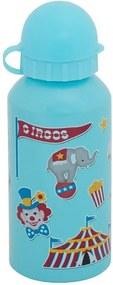 Garrafa Infantil Circo 400 ml - Azul Claro - Interponte