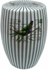 Seat Garden De Cerâmica Pássaros