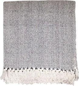 Manta para Sofá Catrina 160x130cm - Cinza Escuro