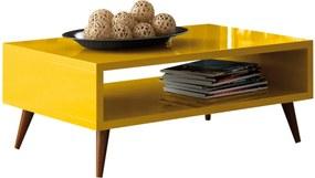 Mesa de Centro D'Rossi Lucy Amarelo