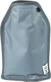 Capa Térmica Congelável Para Garrafas Cinza - Oikos