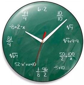 Relógio de Parede Geek Blackboard