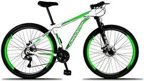 Bicicleta Aro 29 Dropp Alumínio Quadro 17 21v Câmbio IMP Freio a Disco Mecânico com Suspensão