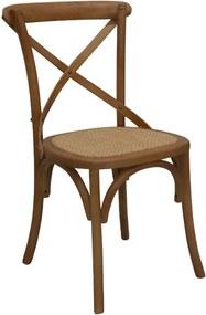 Cadeira Katrina Bétula Caramelo Rivatti