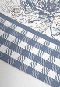 Jogo de Cama 3pçs Solteiro King Artex Elegance Elisa 180 Fios Azul
