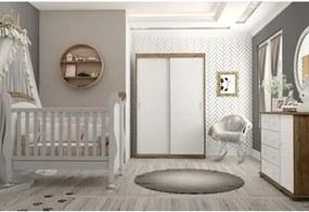 Quarto de Bebê Completo Fratelli Branco/Teka - Matic