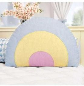 Almofada Colorida Arco-Íris Decorativa 43cm Grão d