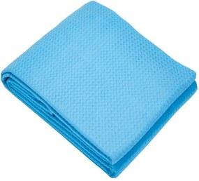 Colcha Casal Teka Genova Piquet Favo 100% Algodão Azul Celeste