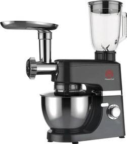 Batedeira Planetária 1000W 127V Ba2001P Preto Master Chef