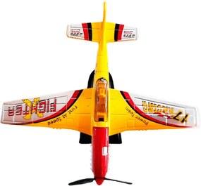 Miniatura Colecionável Aeronave Acrobacts Amarelo