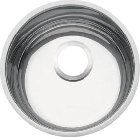 Cuba em aço inox alto brilho 30 cm - Prime - Tramontina