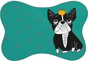 Tapete PET Mdecore Bulldog Verde46x33cm