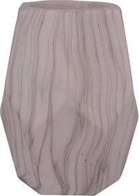 cachepot FRISO diâm; 15 cm  / cimento   /  Ilunato GX0011