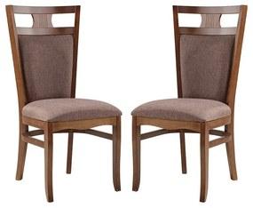 Conjunto 2 Cadeiras de Jantar Berlin - Wood Prime MF 15381