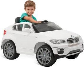 Carro Elétrico BMW X6 Branca R/C 6V - Brinquedos Bandeirante