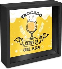Quadro cofre  - bar / boteco / churrasco - cerveja gelada
