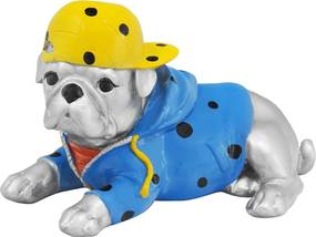 Escultura Em Resina Bulldog Tobby