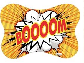 Tapete PET Mdecore Osso Boom Amarelo54x39cm