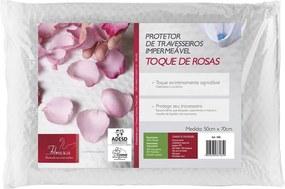 Protetor de Travesseiro Impermeável Toque de Rosas 3185