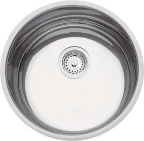 Cuba em aço inox polido 38 cm - Perfecta - Tramontina