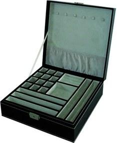 porta joias CAPRICHO 26  cm  couro sintetico Ilunato  TH0019B