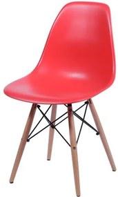 Cadeira Infantil Eiffel Eames DSW Vermelho