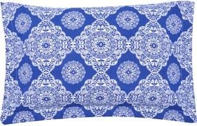 Porta Travesseiro Santista Piquet Azul
