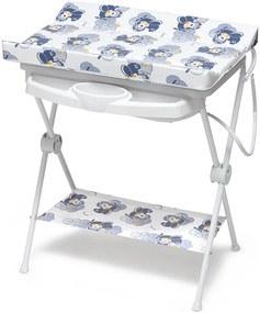 Banheira Plástica para Bebê Galzerano Luxo Rígida Aviador