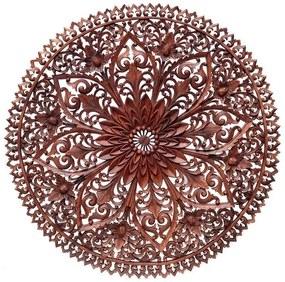 Mandala Floral Entalhada 100cm