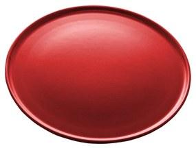 Jogo Pratos Rasos Cerâmica Vadim Vermelho 6 Peças 27cm 17688 Wolff