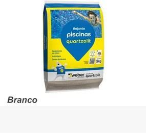Rejunte para Piscina 5Kg Branco - Quartzolit - Quartzolit