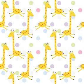 Papel de Parede Infantil Girafa 2,70x0,57m