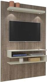 Painel para TV até 42 polegadas, Canela com Off White, Vizion