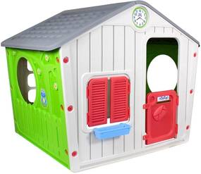Casinha de Brinquedo Infantil Portatil Bel Brink - Cinza