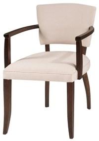 Cadeira de Jantar Bianca Com Braço - Wood Prime SS 16784