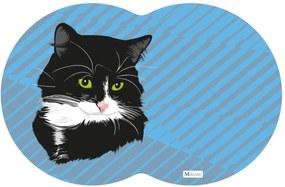 Tapete PET Gato Azul 55x35cm