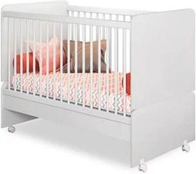 Quarto Infantil PR Baby Danny com Berço Mini Cama Sirius Branco