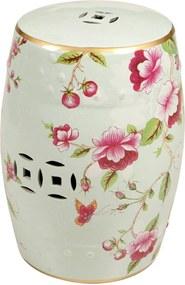 Garden Seat de Porcelana Romantic