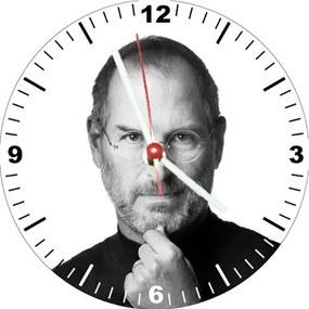 Relógio Decorativo Steve Jobs