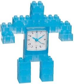 Relógio de Mesa Robot Azul - Urban - 13x12 cm