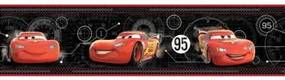 Faixa Decorativa Disney Carros Cars Relampago Mcqueen Ds7650bd 0,17X4,57