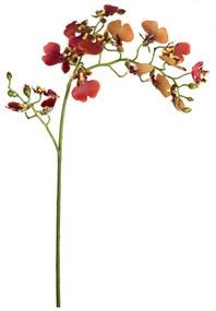 Haste Orquídea Oncidium 60cm - Vermelho