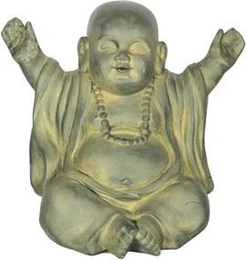 Escultura Monge Blessed em Fibrocimento