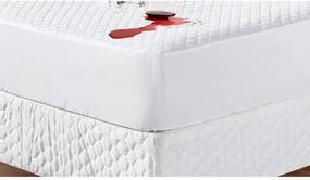 Protetor de Colchão Queen Sleep Matelado Branco Casaborda