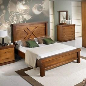 Cama de Casal Queen Style Peseira Baixa Domus Móveis -